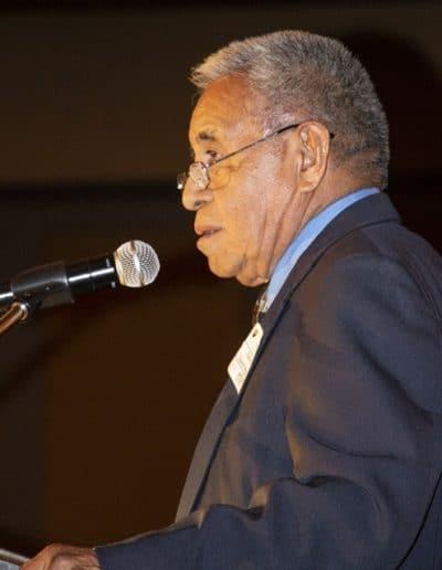 Tohono O'odham Chairman Edward D. Manuel