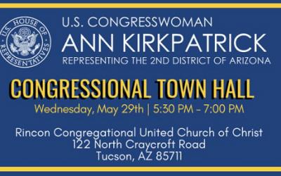 U.S. Congresswoman Ann Kirkpatrick Town Hall