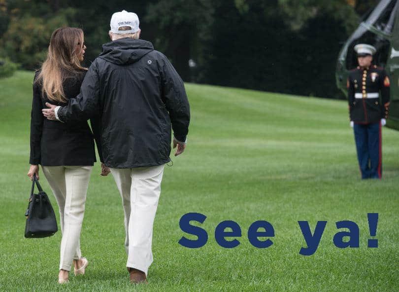 trump leaving office