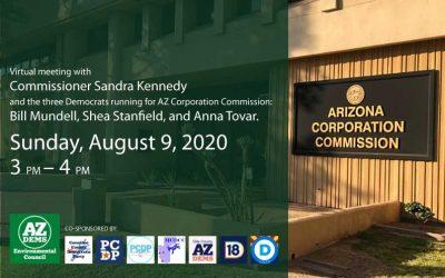 Curious about the AZ Corporation Commission?