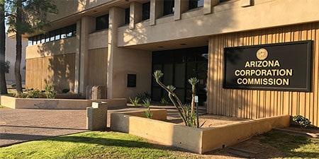 Arizona Corporation Commission office