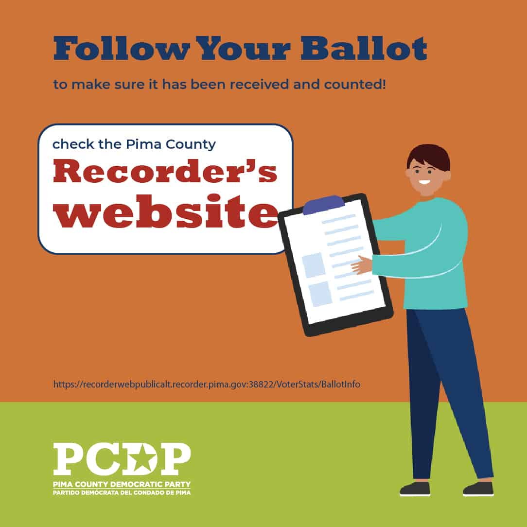 Follow your ballot!