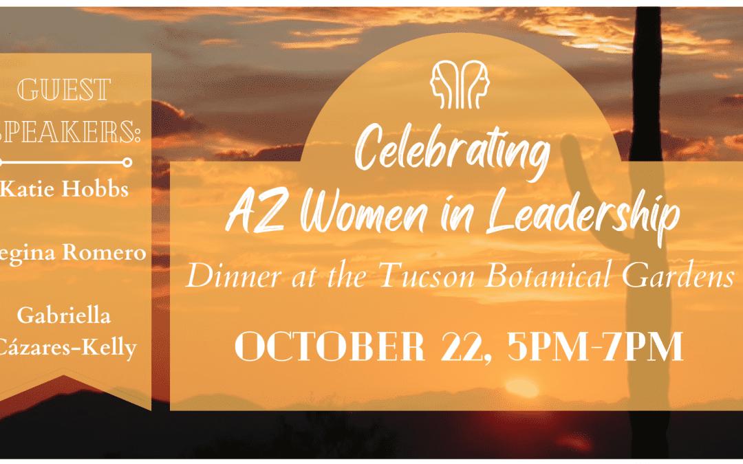 Celebrating AZ Women in Leadership Dinner